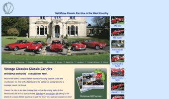 cornwallclassiccarhire.co.uk