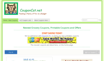 Couponcat Net Observe Coupon Cat News Couponcat Grocery Coupons Free Printable Grocery
