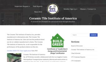 Ctioa observe ctioa news to promote use of ceramic tile and ctioa ppazfo