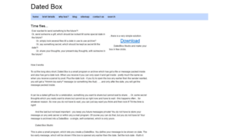 datedbox.com