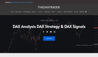 Daxtrader co uk ▷ Observe Dax Trader News | DaxTrader – The