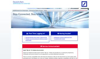 Dbrasweb Ext Db Com Observe Dbrasweb Ext Db News Dbrasweb For Externals Deutsche Bank