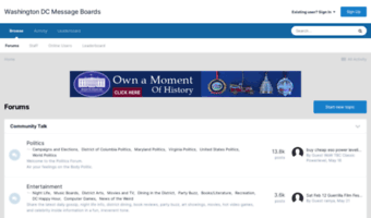 Dcmessageboards Com Observe Dc Message Boards News Forums Washington Dc Message Boards