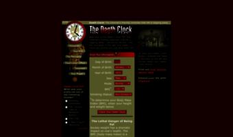 Deathclock com ▷ Observe Death Clock News | The Death Clock