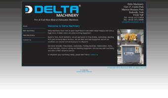 Delta Machinery Co Uk Observe Delta Machinery News Sheet