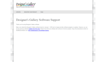 Designersgallerysoftware Com Observe Designer S Gallery Software News Support Designer S Gallery Software