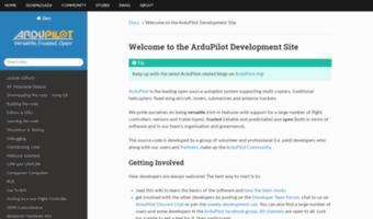 Dev ardupilot org ▷ Observe Dev Ardu Pilot News | Welcome