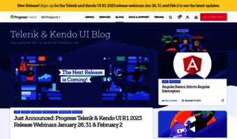 Developer telerik com ▷ Observe Developer Telerik News