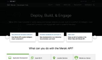 Developers meraki com ▷ Observe Developers Meraki News