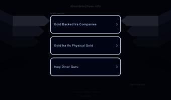 Dinardetectives info ▷ Observe Dinar Detectives News