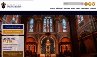 archdiocese of sacramento