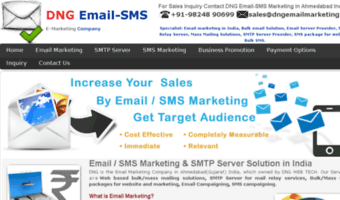 Dngemailmarketing in ▷ Observe DNG Email Marketing News | Email/SMS