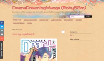Dramadreamingmanga blogspot it ▷ Observe Drama Dreaming