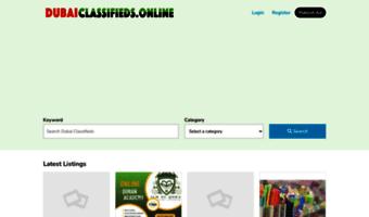 Dubaiclassified com ▷ Observe Dubai Classified News