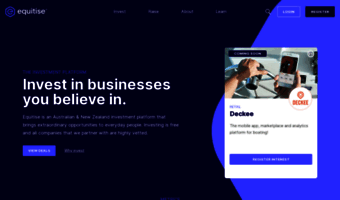 Equitise com ▷ Observe Equitise News | Crowdfunding