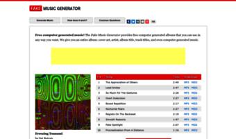 Fakemusicgenerator com ▷ Observe Fake Music Generator News