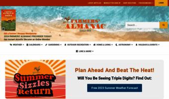 Farmersalmanac Com Observe Farmers Almanac News Weather Gardening Fishing