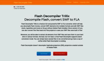 Flash-decompiler com ▷ Observe Flash Decompiler News
