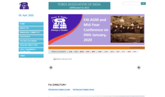 Forex association of india conference
