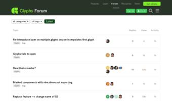 Forum Glyphsapp Com Observe Forum Glyphs App News Glyphs Forum
