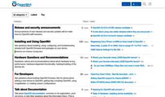 Forum openwrt org ▷ Observe Forum Open Wrt News | OpenWrt Forum