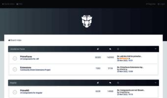 Forum primefaces org ▷ Observe Forum Prime Faces News | Prime