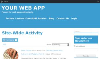 Forum yourwebapp mobi ▷ Observe Forum Yourwebapp News