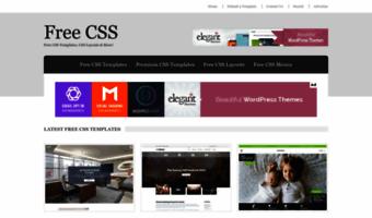 Free css observe free css news 2786 free website templates free css maxwellsz
