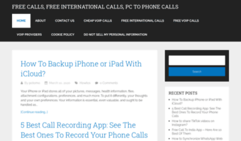 Freecallfrompctomobile org ▷ Observe Free Callfrom PC Tomobile News