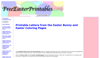 image regarding Letter From the Easter Bunny Printable named â–· Stick to No cost Easter Printables