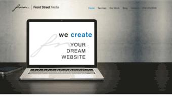 Frontstreetmedia Com Observe Frontstreetmedia News Web Design El Dorado Hills Seo Graphic Design El