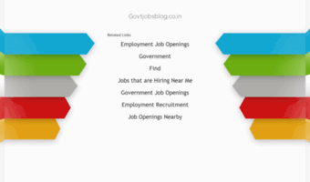 govtjobsblog.co.in