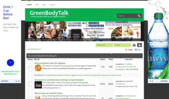 Greenbodytalk com ▷ Observe Green Body Talk News | GreenBodyTalk
