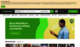 Gumtree co za ▷ Observe Gumtree News | Sell On Gumtree