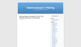 hammondcast.wordpress.com