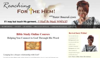 Hem-of-his-garment-bible-study org ▷ Observe Hem Ofhis