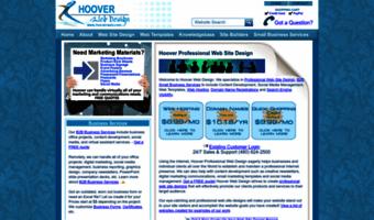 hoover web design free printables
