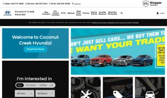 Used Car Dealerships Websites >> Hyundaiofcoconutcreek Com Observe Hyundai Of Coconut