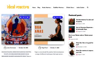Idealmantra com ▷ Observe Ideal Mantra News | Ideal Mantra