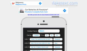 Ifaketext com ▷ Observe Ifake Text News | The first iPhone