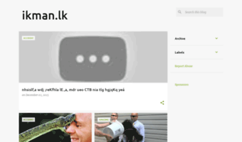 Ikman-srilankaa blogspot com ▷ Observe Ikman Srilankaa
