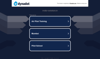 india-aviation.in