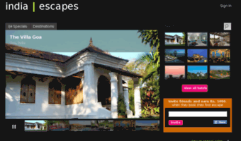 indiaescapes.com