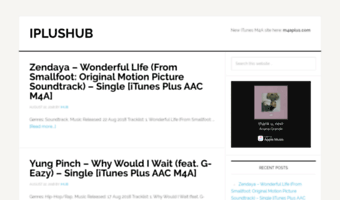Iplushub com ▷ Observe IPlusHub News | IPlusHub - iTunes Plus AAC