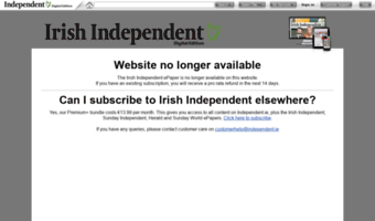 irishindependent.newspaperdirect.com