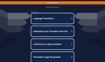 Itranslate4 eu ▷ Observe Itranslate 4 News | Free Online