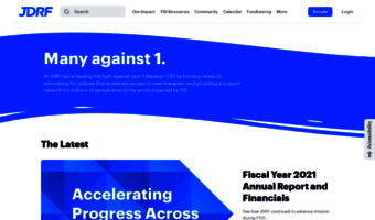 Jdrf org ▷ Observe JDRF News | JDRF - Type 1 Diabetes Research