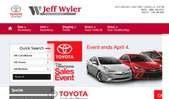 Captivating ... Jeff Wyler Toyota. Jeffwylerclarksvilletoyota.calls.net