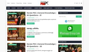 Keralapscgk com ▷ Observe Kerala PSC GK News | Kerala PSC GK