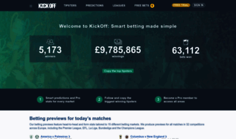Kickoff co uk ▷ Observe Kick Off News | Predictions for today